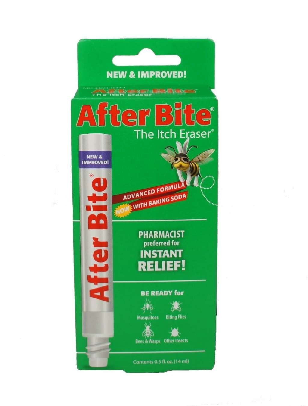 After Bite Advanced Formula With Baking Soda - 0.5 Fl Oz (14 mL)