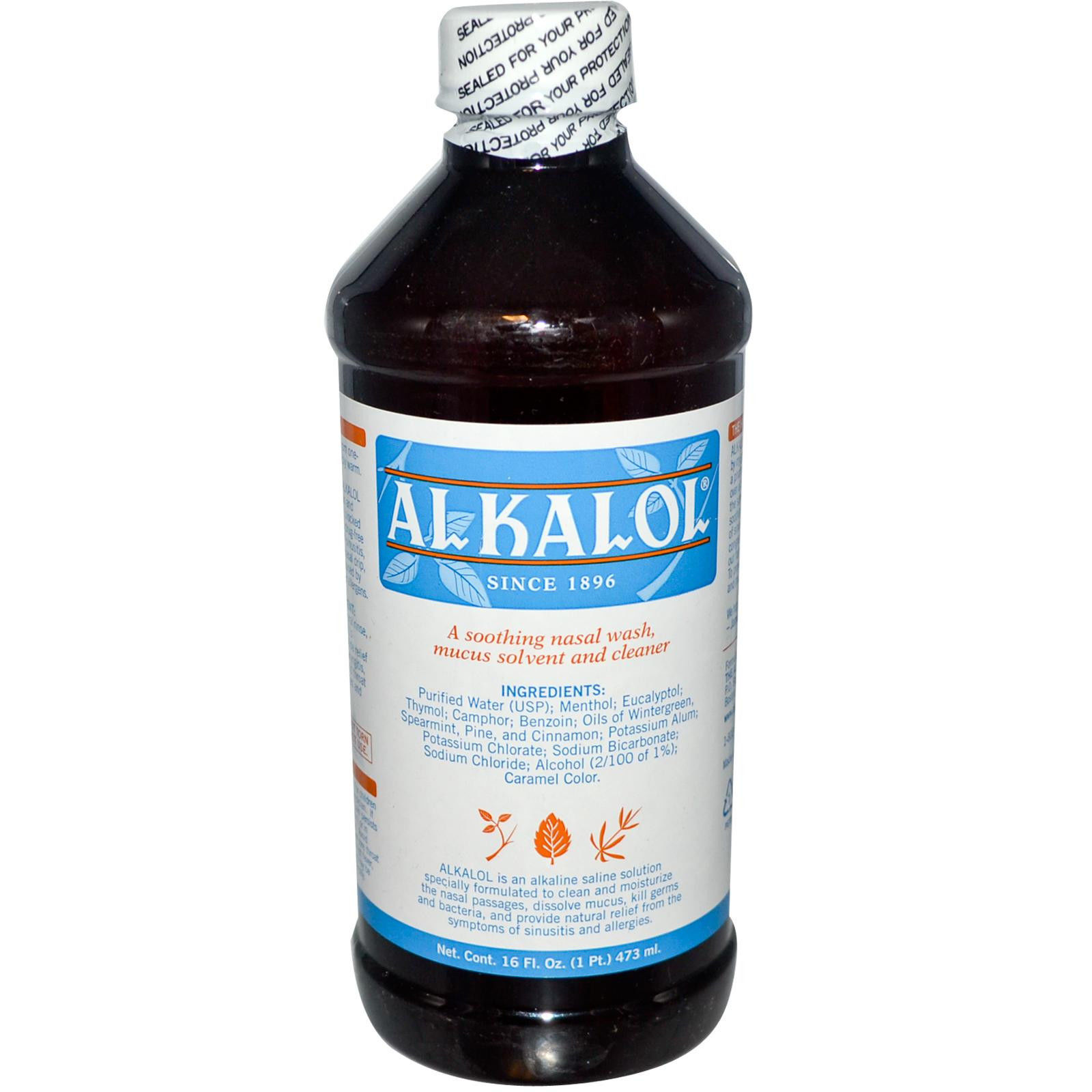 Alkalol Wash (Nasal/Mouth) - 16 OZ