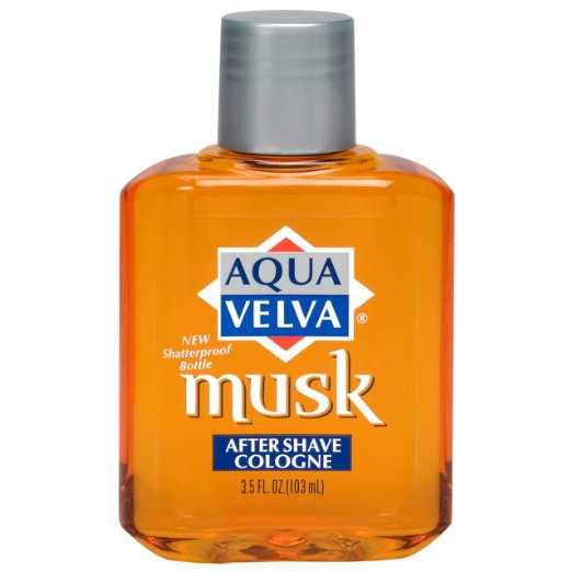 Aqua Velva Musk After Shave Cologne - 3.5 oz
