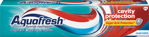 Aquafresh Cavity Protection Toothpaste Cool Mint - 5.6 Oz (158.8 g)