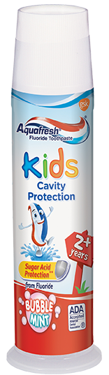 Aquafresh Kids Cavity Protection Bubble Mint - 4.6 Oz (130.4 g)