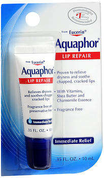 Aquaphor, Lip Repair, Immediate Relief - 0.35 FL. Oz. (10 mL)