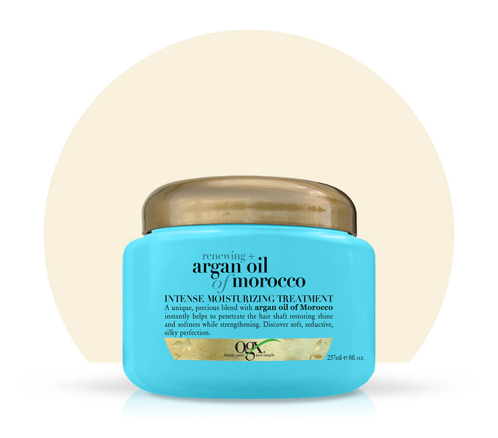 Organix (OGX) Renewing + Argan Oil Of Morocco Intense Moisturizing Treatment - 237 mL (8 Fl Oz)