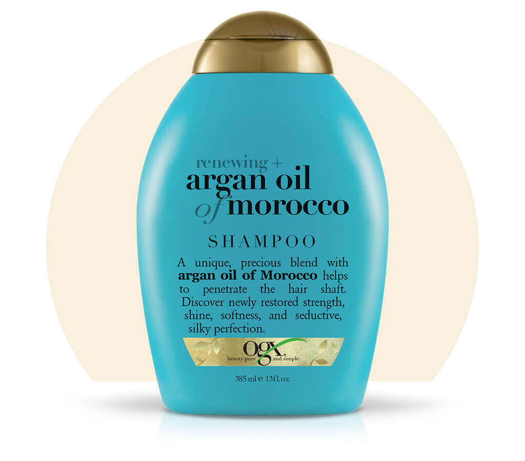 Organix (OGX) Renewing + Argan Oil of Morocco Shampoo - 13 Fl Oz (385 mL)