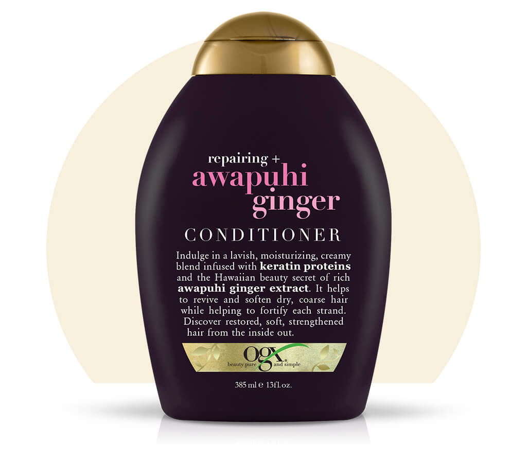 Organix (OGX) Repairing+ Awapuhi Ginger Conditioner - 13 Fl Oz (385 mL)