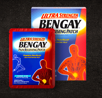 Bengay Ultra Strength Pain Relieving Patch Large Size - 4 individually Sealed Patches