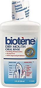 Biotene Dry Mouth Oral Rinse Fresh Mint - 2 Fl Oz (59 mL)
