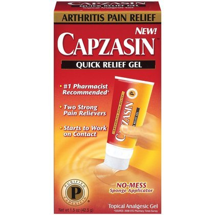 Capzasin Quick Relief Topical Analgesic Gel - 1.5 oz (42.5 g)