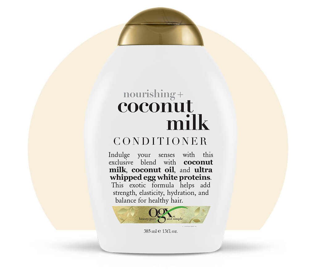 Organix (OGX) Nourishing + Coconut Milk Conditioner - 13 Fl Oz (385 mL)