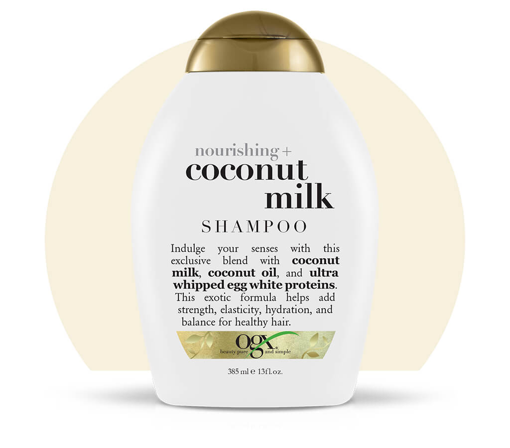 Organix (OGX) Nourishing + Coconut Milk Shampoo - 13 Fl Oz (385 mL)