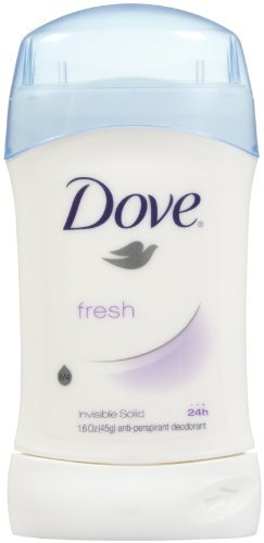 Dove Fresh Invisible Solid 24h Anti-Perspirant Deodorant - 1.6 oz (45 g)