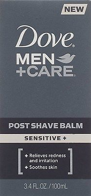 Dove, Men+Care Post Shave Balm, Sensitive + - 3.4 oz