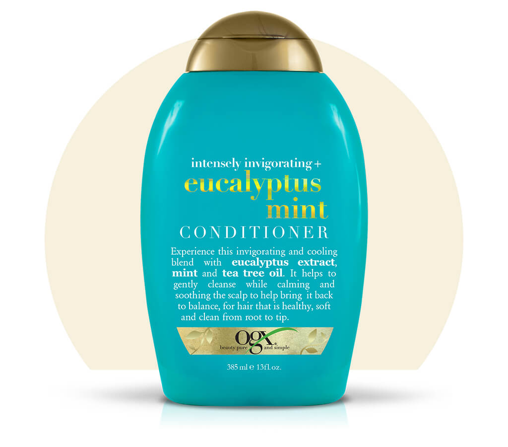 Organix (OGX) Intensely Invigorating + Eucalyptus Mint Conditioner - 13 Fl Oz (385 mL)