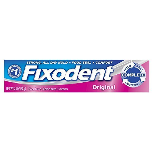 Fixodent Original Denture Adhesive Cream - 2.4 Oz (68 g)