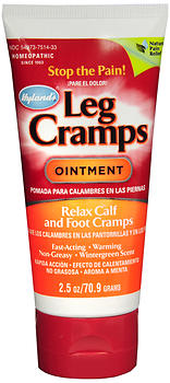 Hyland's Leg Cramps Ointment Homeopathic; Relax Calf & Foot Cramps - 2.5 oz