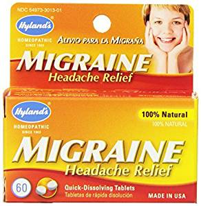 Hyland's Migraine Headache Relief - 60 Quick Dissolving Tablets