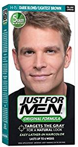 Just For Men, Original Formula, Men's Hair Color, Dark Blond/Lightest Brown (H-15)