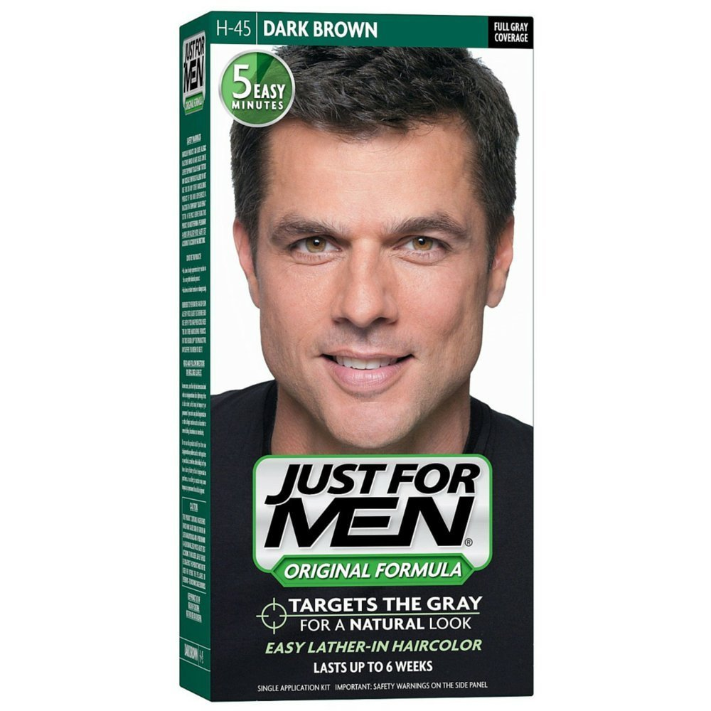 Just For Men, Original Formula, Men's Hair Color, Dark Brown (H-45)