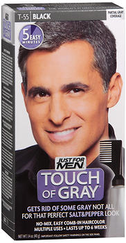 Just For Men Touch Of Gray, Black (T-55)