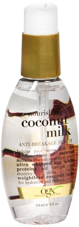 Organix (OGX) Nourishing + Coconut Milk Anti-Breakage Serum - 4 Fl Oz (118 mL)