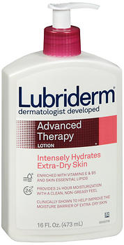 Lubriderm Advanced Therapy Skin Lotion - 16 oz
