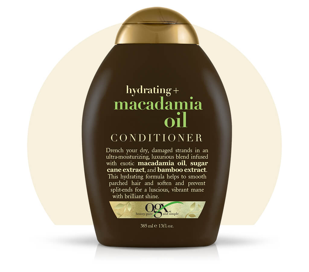 Organix (OGX) Hydrating + Macadamia Oil Conditioner - 13 Fl Oz (385 mL)