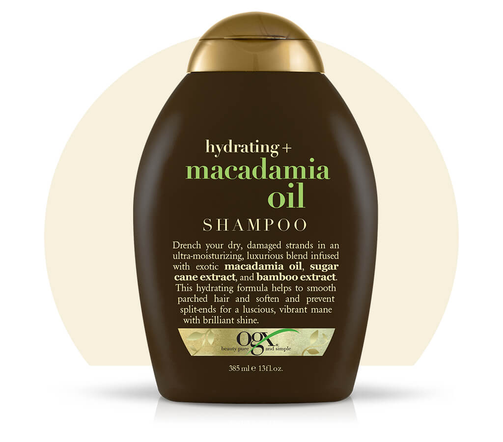 Organix (OGX) Hydrating + Macadamia Oil Shampoo - 13 Fl Oz (385 mL)