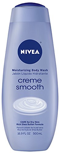 Nivea Creme Smooth Moisturizing Body Wash - 16.9 oz