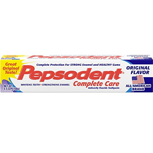 Pepsodent Complete Care Original Flavor Toothpaste - 5.5 Oz (156 g)