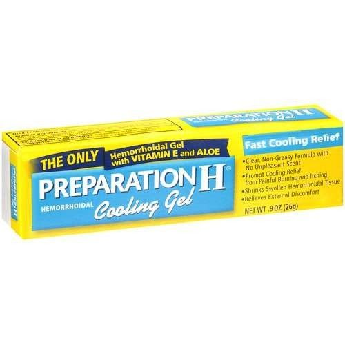 Preparation H Hemorrhoidal Cooling Gel - Fast Cooling Relief - 0.9 oz