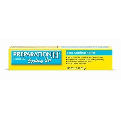 Preparation H Hemorrhoidal Cooling Gel - Fast Cooling Relief - 1.8 oz