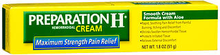 Preparation H Hemorrhoidal Cream Maximum Strength - 1.8 oz