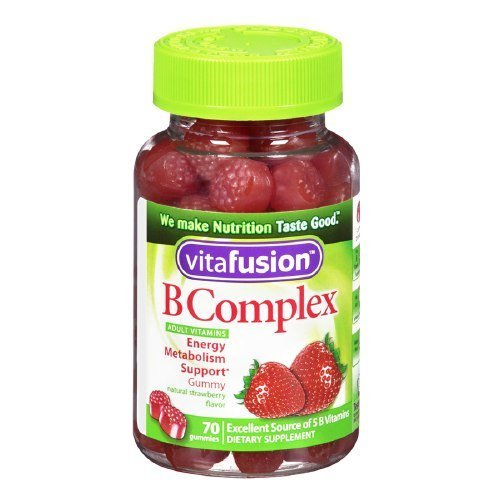 Vitafusion B Complex Adult Vitamins - 70 Gummies