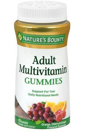 Nature's Bounty Adult Multivitamin Gummies - 75 Gummies