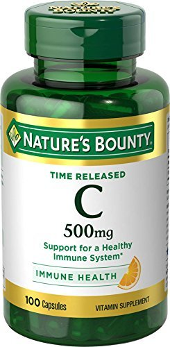 Nature's Bounty Time Released C 500 mg - 100 Capsules