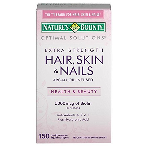 Nature's Bounty Extra Strength Hair, Skin & Nails - 150 Rapid Release Softgels