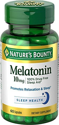 Nature's Bounty Melatonin 10 mg - 60 Capsules