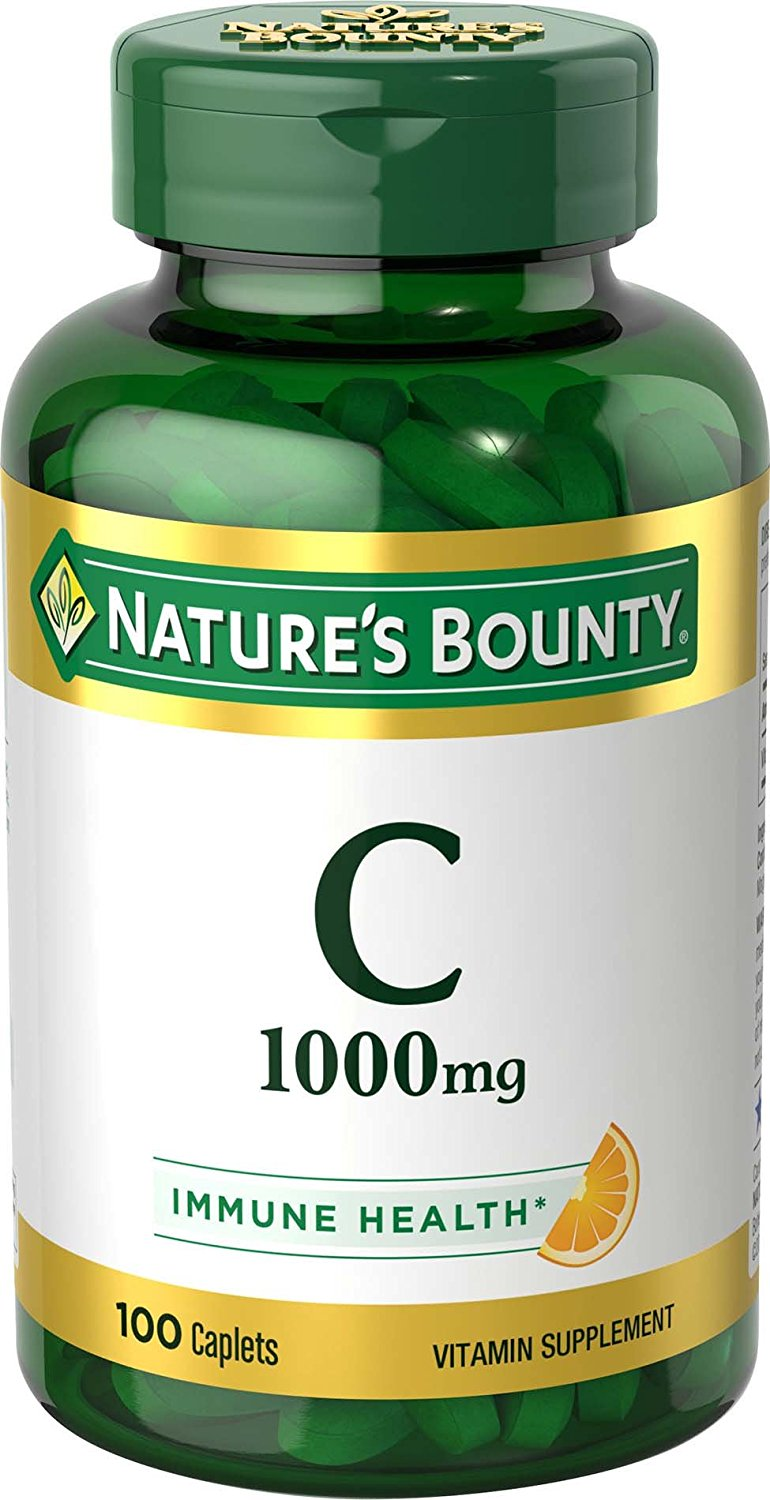 Nature's Bounty Vitamin C 1000 mg, 100 Caplets