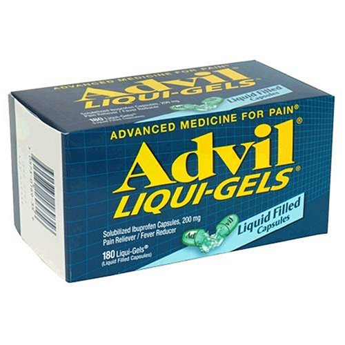 Advil Liqui-Gels Solubilized Ibuprofen Capsules 200 mg - 40 Liquid Filled Capsules