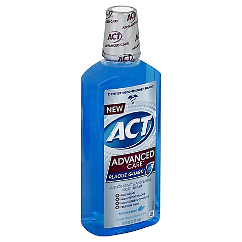 ACT Advanced Care Plaque Guard Frosted Mint - 18 Fl Oz (532 mL)