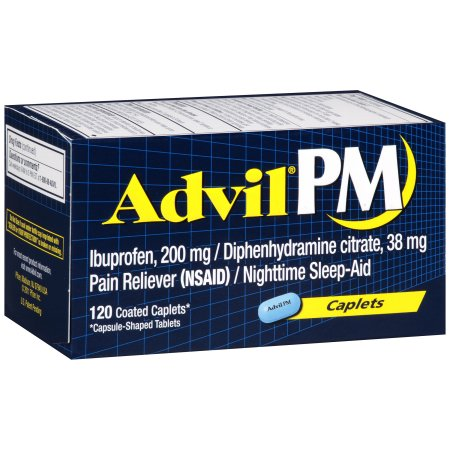 Advil PM - 120 Coated Caplets