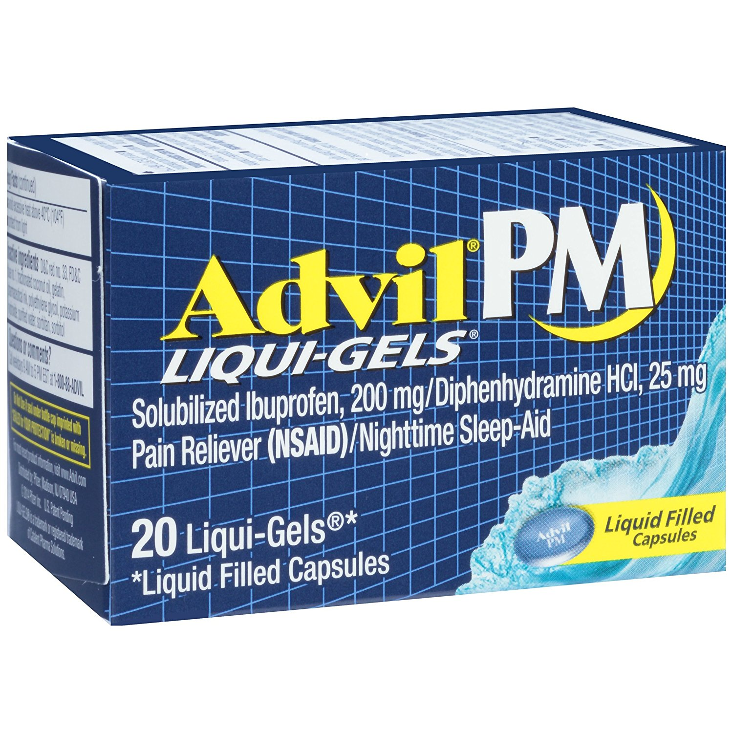 Advil PM - 20 Liqui-Gels