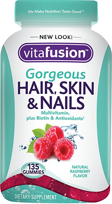 Vitafusion Gorgeous Hair, Skin & Nails - 135 Gummies