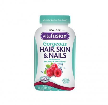Vitafusion Gorgeous Hair, Skin & Nails - 100 Gummies