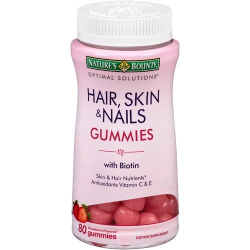 Nature\'s Bounty Hair, Skin & Nails - 80 Gummies