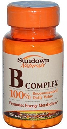 Sundown Naturals B Complex - 100 Tablets