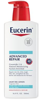 Eucerin Smoothing Repair (Advanced Repair) Light Lotion for Dry Skin - 16.9 oz