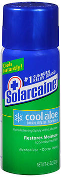 Solarcaine Cool Aloe Burn Relief Formula Spray - 4.5 oz