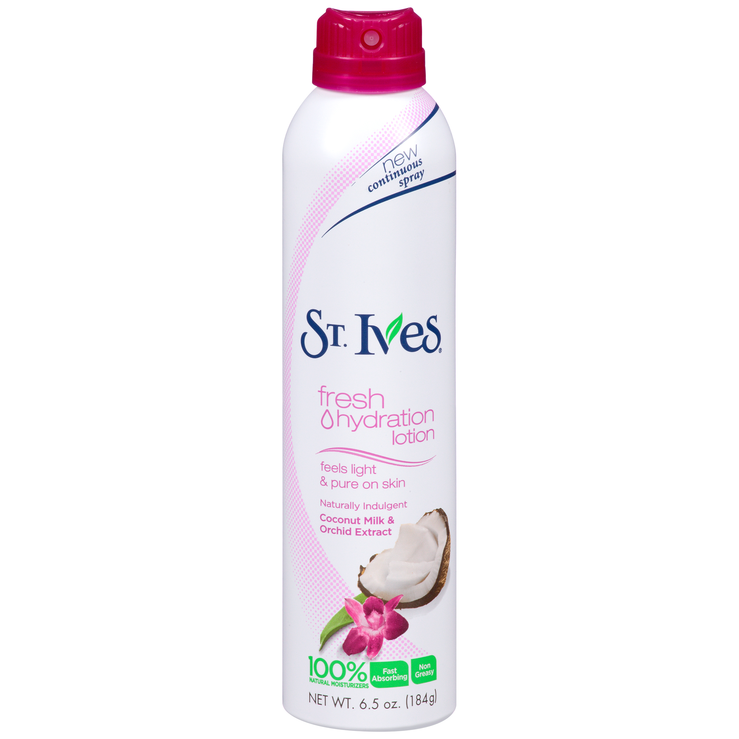 St. Ives Fresh Hydration Lotion Coconut Milk & Orchid Extract - 6.5 oz (184 g)