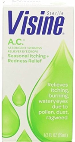 Visine A.C. Ultra Itchy Eye Relief - 1/2 Fl Oz (15 mL)
